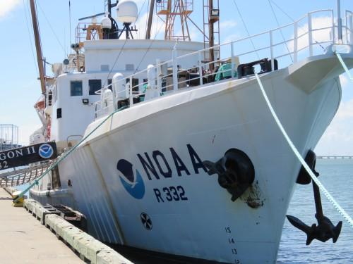 NOAA research vessel Oregon II.