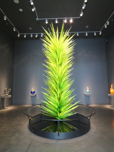 Chihuly sculpture from Las Vegas gallery.