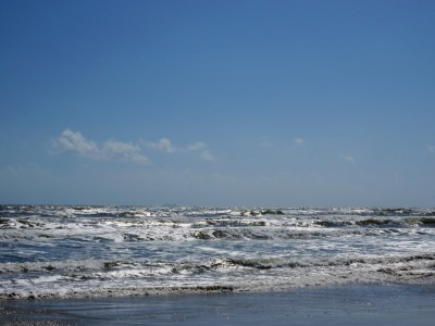 The Gulf of Mexico.