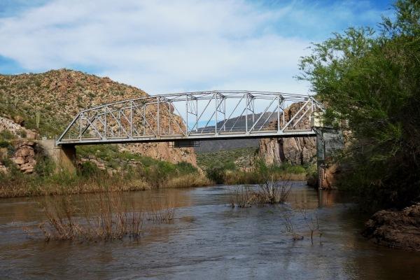 bridge across Salt River
