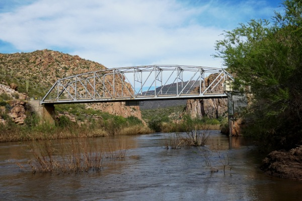bridge across Salt River