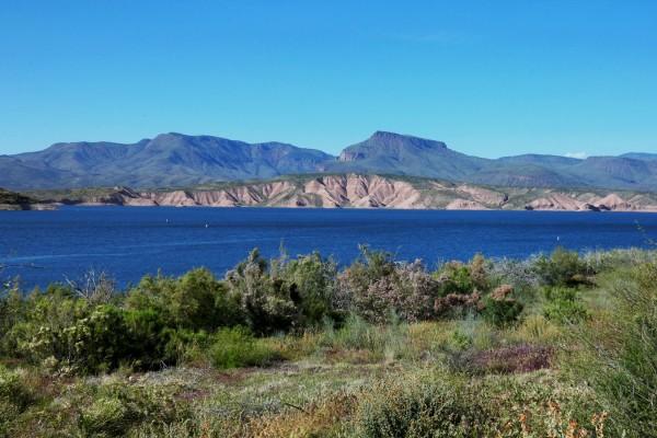 Roosevelt Lake, Arizona.