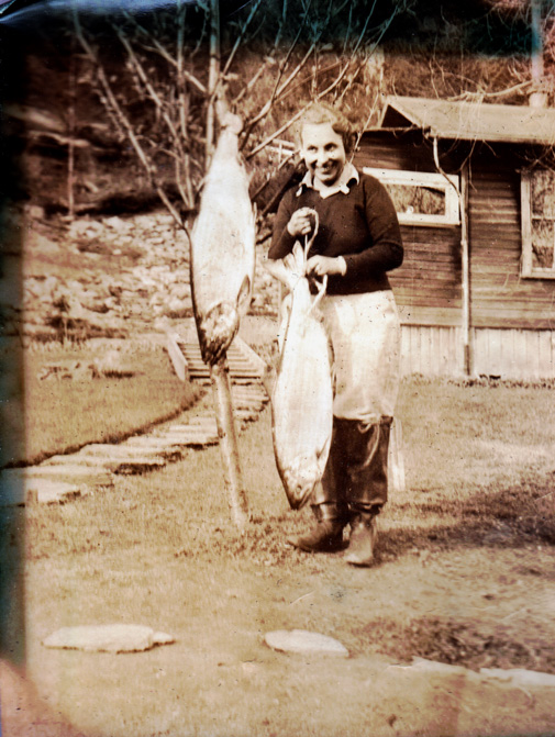 A Woman in Alaska in the 1930s